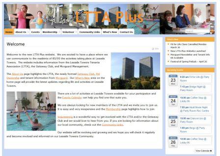 LTTA Plus Website Screen Capture Small
