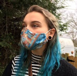 Face mask from Instructables